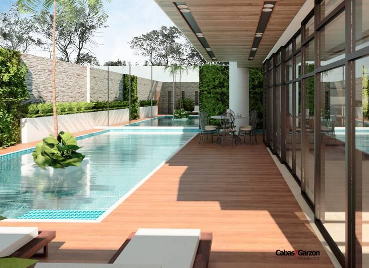 Casas campestres de cabas garzon arquitectos homify for Casa moderno kl