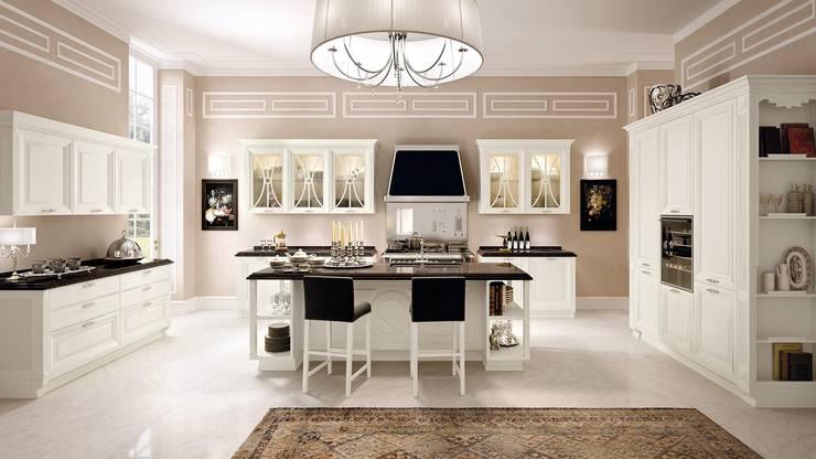 Cozinha Modelo Pantheon - Luxo e design exclusivo Cozinhas LUBE Itália: Cozinha  por Area design interiores - cozinhas em Braga