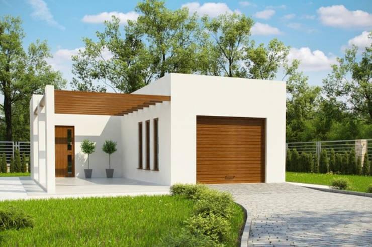 Casas Prefabricadas proyecto G175 de FHS Casas Prefabricadas Moderno Hierro/Acero