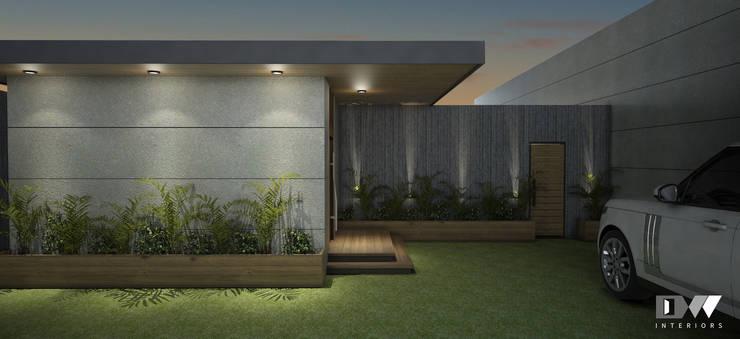 Exterior Facade:  Bungalows by DW Interiors