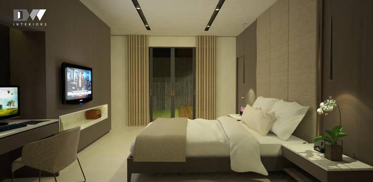 Bedroom Design:  Bedroom by DW Interiors