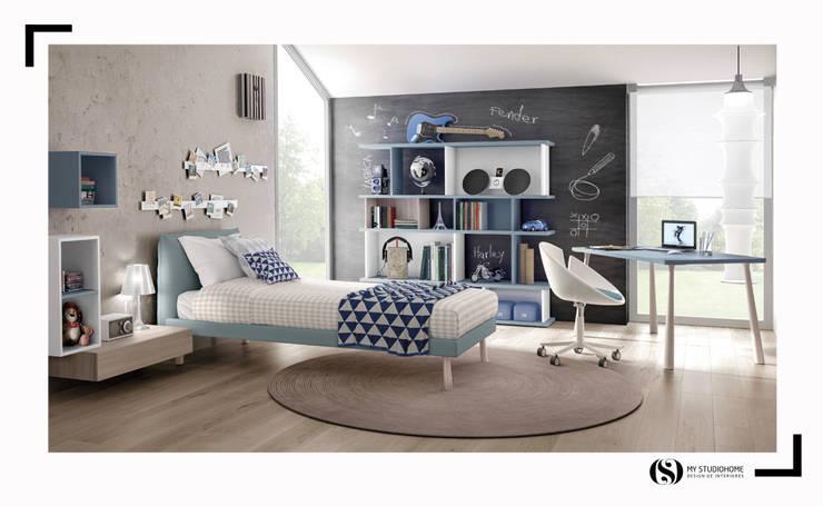 Quartos de criança Zalf: Quartos de rapaz  por MyStudiohome - Design de Interiores