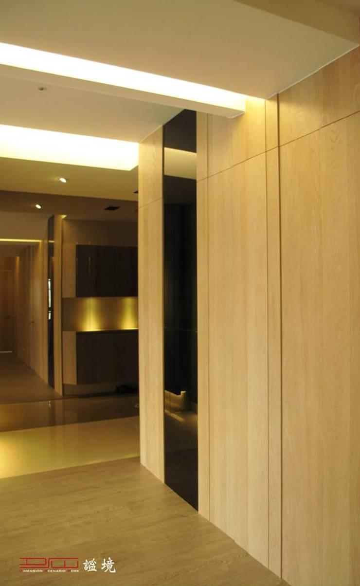 【居家設計】聚合發經典謝邸--細節成就品味:  客廳 by 謐境空間策略事務所 - Dimension Scenario Work