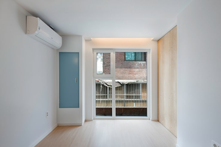 성산동 고양이집: 에이오에이 아키텍츠 건축사사무소 (aoa architects)의  거실,