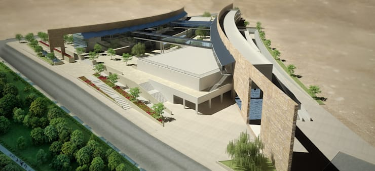Conference Centres by SPACES Architects Planners Engineers