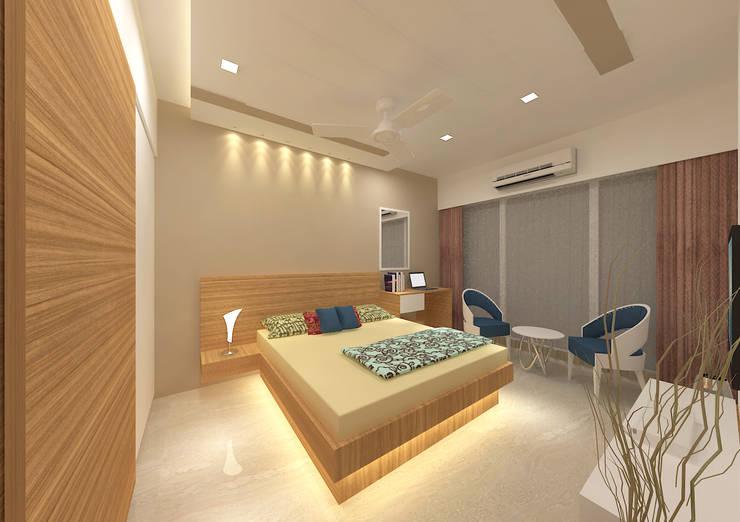 غرفة نوم تنفيذ Midas Dezign