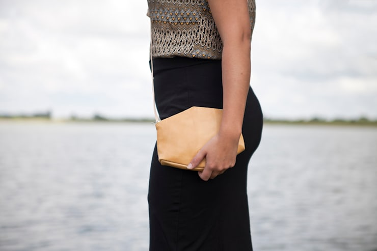 Eco leather bags:  Kleedkamer door Anna Treurniet