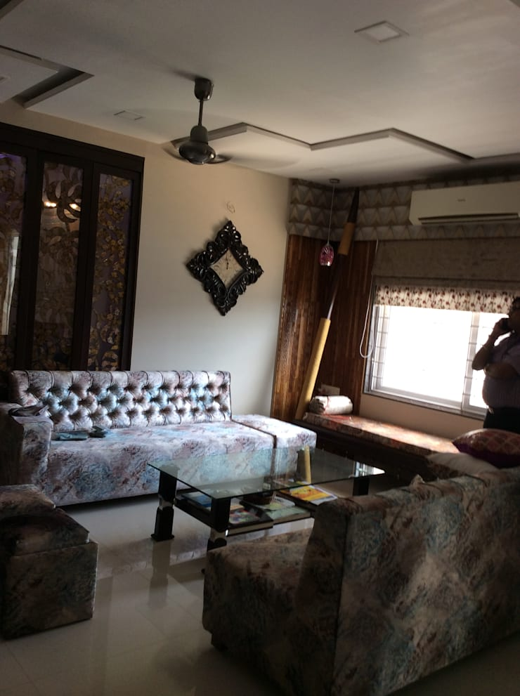 Interiorozal- Home Design   Renovation of Home&Office   Office Design:  Living room by InteriorOzal