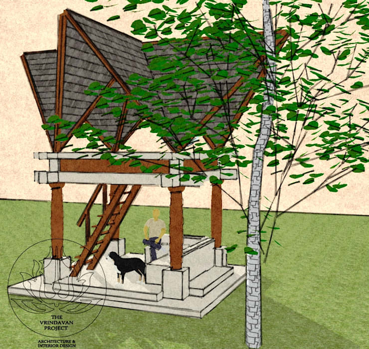 Tree House Design: eclectic Houses by The Vrindavan Project