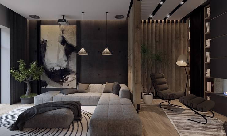 غرفة المعيشة تنفيذ Gökhan BAYUR