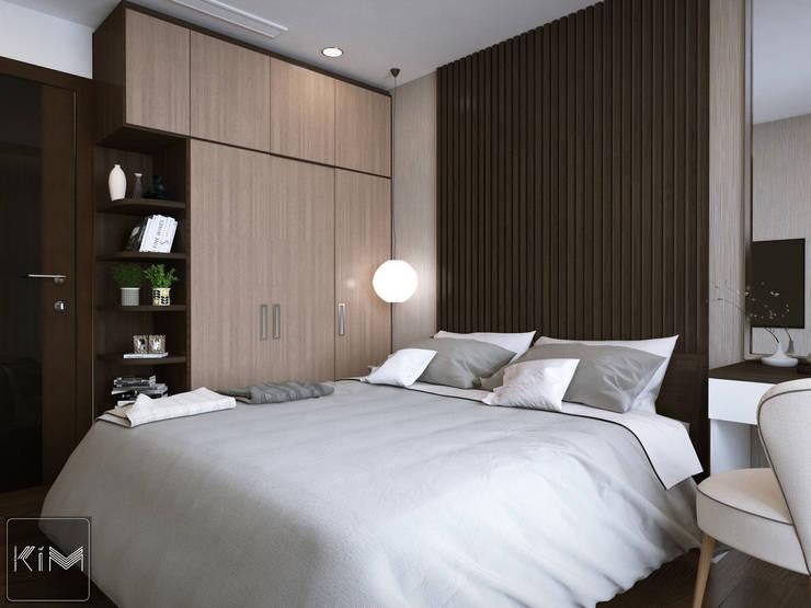 Dự án Five Star Garden:  Phòng ngủ by KIM - furniture