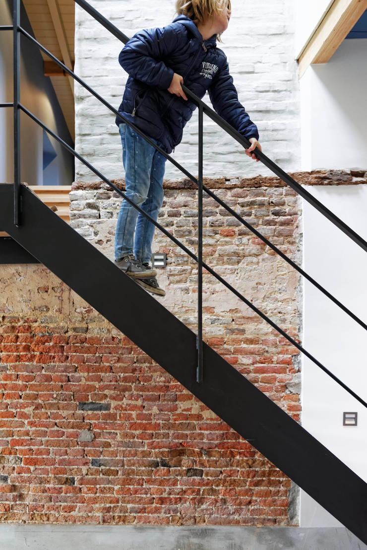 Boerderij Eikendaal eigentijds verbouwd:  Trap door ODM architecten - erfgoed & architectuur