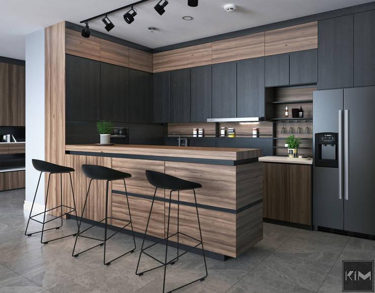 Dự án Wartermark:  Nhà bếp by KIM - furniture