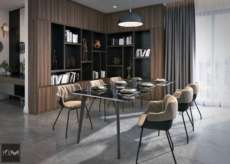 Dự án Wartermark:  Phòng ăn by KIM - furniture
