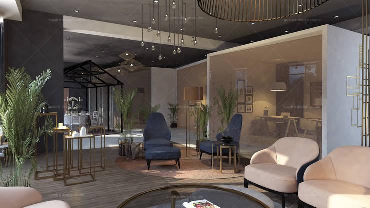 Lantai oleh QUADRO DESIGN STUDIO, Skandinavia