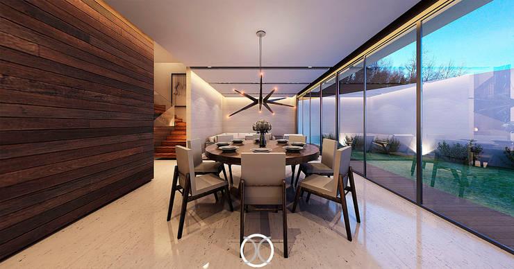 Comedor: Comedores de estilo moderno por Nova Arquitectura