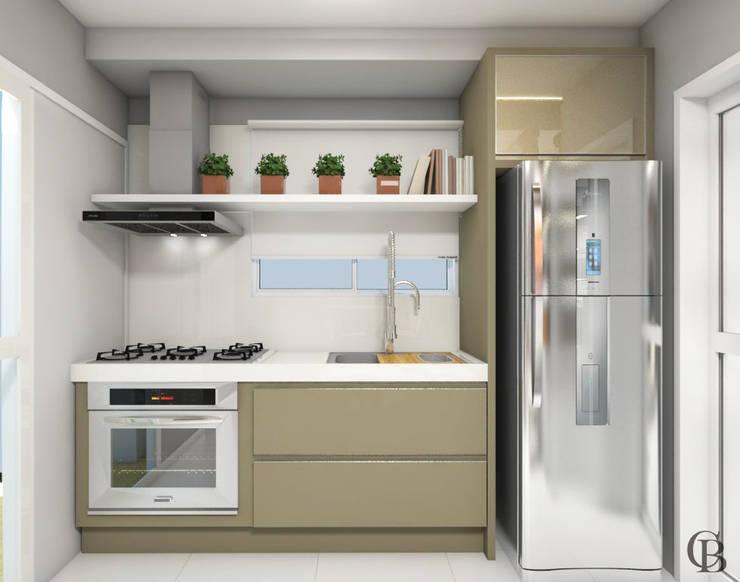 廚房 by Caroline Berto Arquitetura