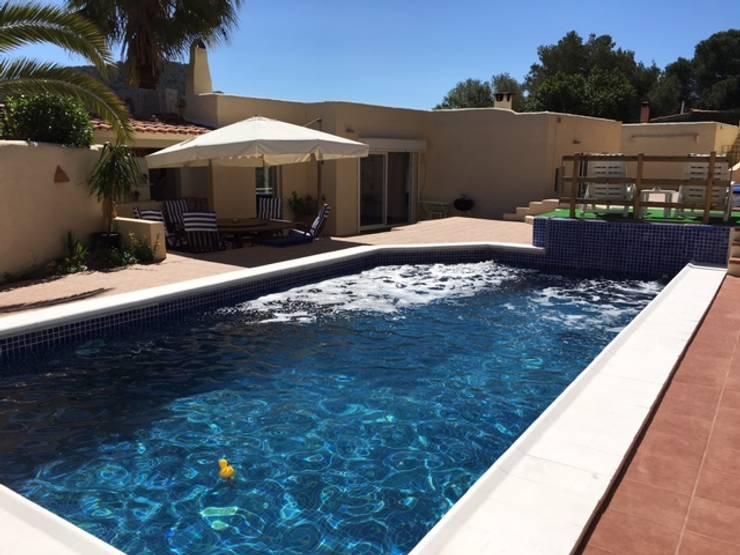بيت زجاجي تنفيذ CW Group - Luxury Villas Ibiza