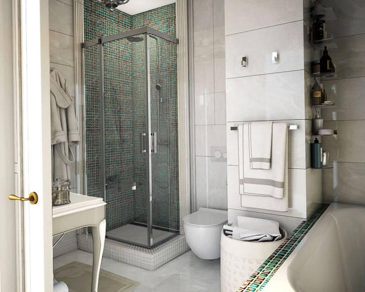 WORKS II: Ванные комнаты в . Автор – Юлия Максимук