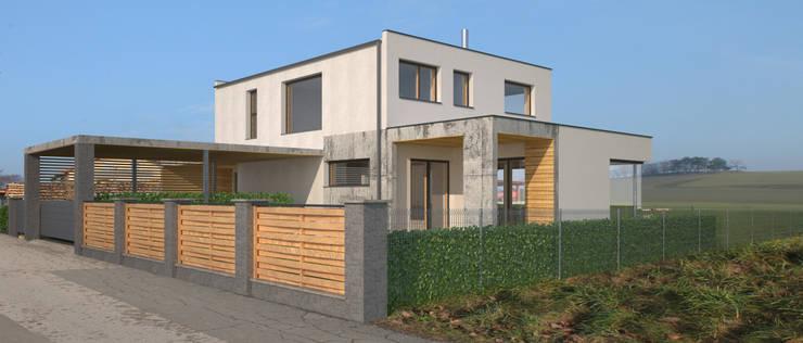 Projekty,  Dom jednorodzinny zaprojektowane przez AL ARCHITEKT