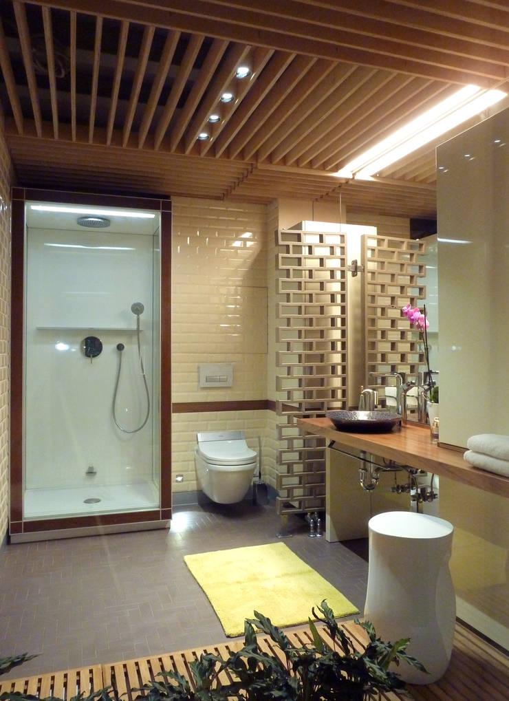 Реализованный проект ванной комнаты в историческом здании г. Москва: Ванные комнаты в . Автор – ID project