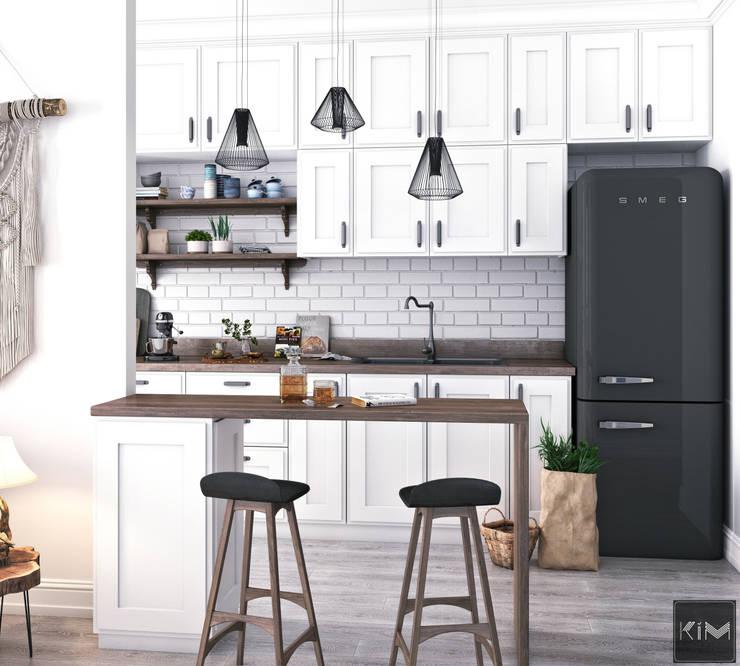 Dự án Vinhomes Gardenia:  Nhà bếp by KIM - furniture