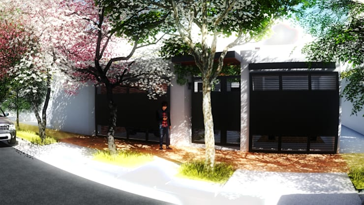PROYECTO CASA MP.: Casas de estilo  por efeyce
