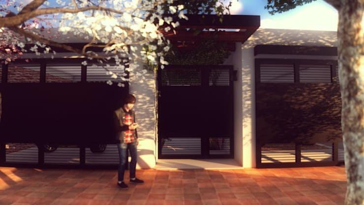 PROYECTO CASA MP.: Casas de estilo  por efeyce,