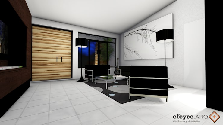 Living room by efeyce, Modern