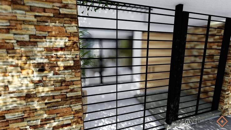Projekty,  Domy zaprojektowane przez efeyce, Nowoczesny