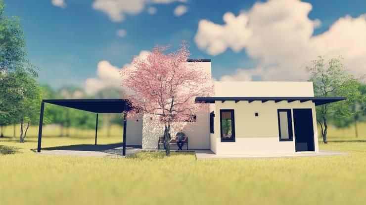 PROYECTO CASA S&C: Casas de estilo  por efeyce