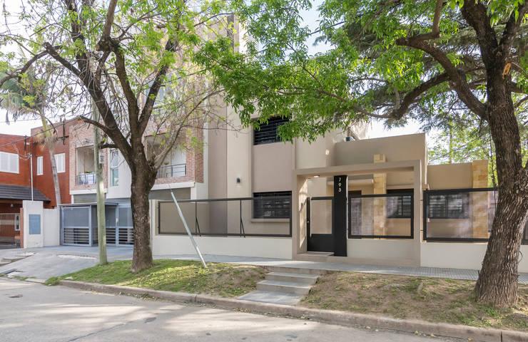 Casa 2C - REFORMA y AMPLIACIÓN : Casas de estilo  por D'ODORICO OFICINA DE ARQUITECTURA