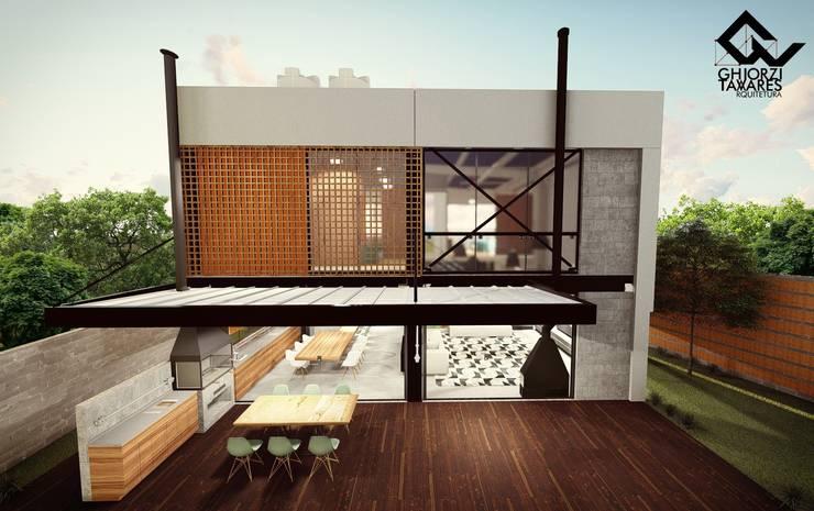 Casas pré-fabricadas  por GhiorziTavares Arquitetura