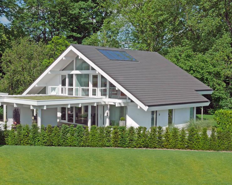 Projekty,  Dom prefabrykowany zaprojektowane przez DAVINCI HAUS GmbH & Co. KG