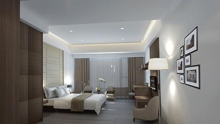 project-3002 :  Bedroom by YU SPACE DESIGN
