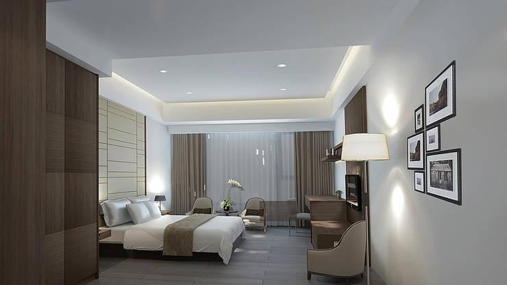 Phòng ngủ by YU SPACE DESIGN