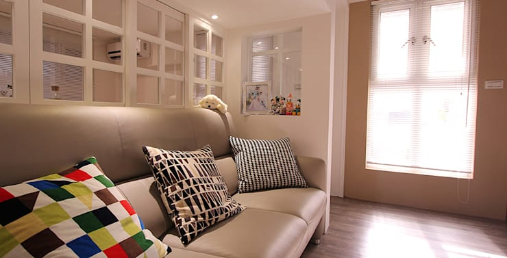 project-4011:  Living room by YU SPACE DESIGN
