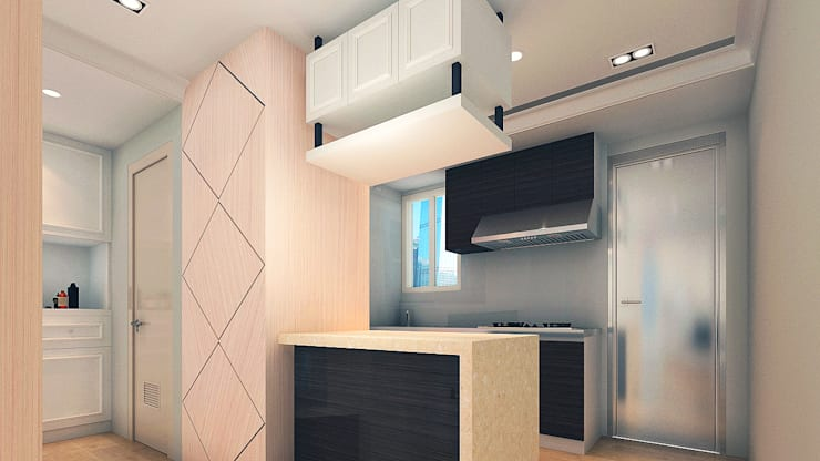 project-6007:  Kitchen units by YU SPACE DESIGN