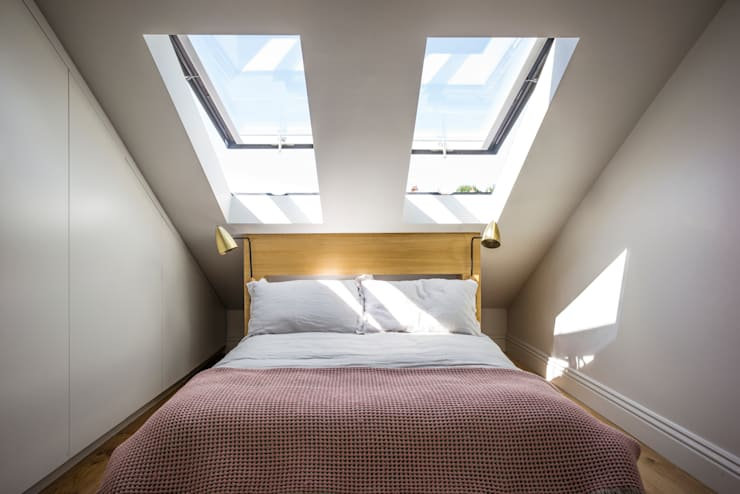 غرفة نوم تنفيذ Space Group Architects