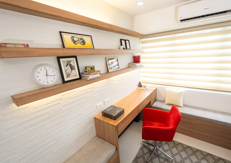 Sonata Private Residences: modern Living room by TG Designing Corner