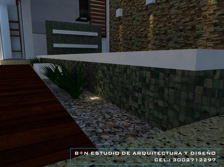 DETALLES. Balcones y terrazas de estilo moderno de B+N Estudio de Arquitectura y Diseño Moderno