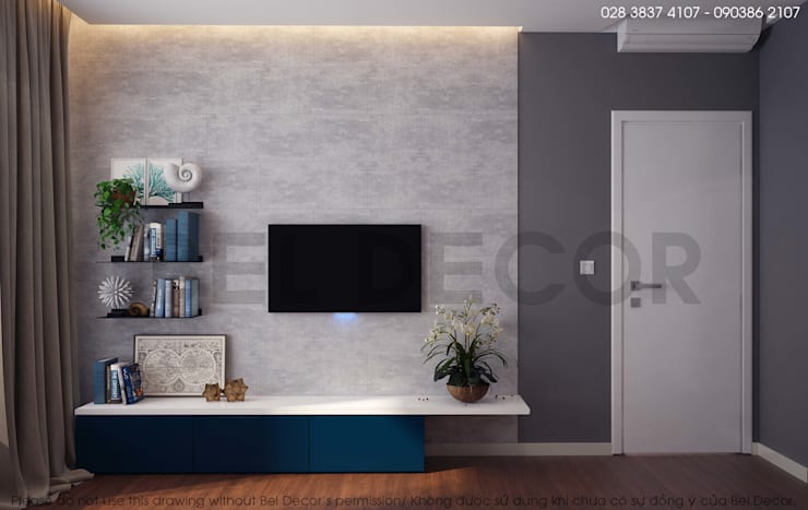 Project: HO17106 Apartment/ Bel Decor:   by Bel Decor