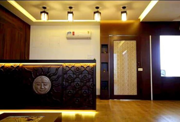 All Our Interior Works: classic Living room by Bro4u Pvt Ltd