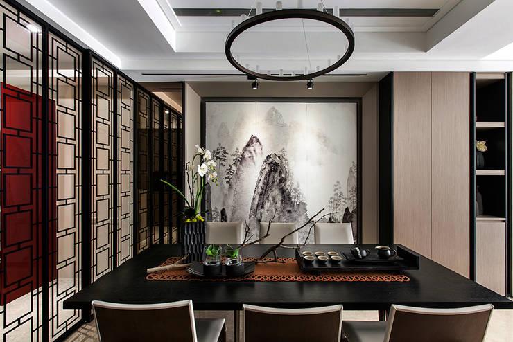 غرفة السفرة تنفيذ 辰林設計