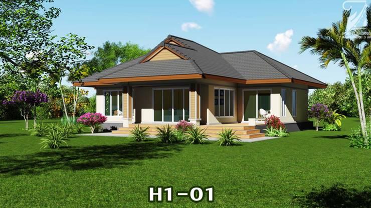 แบบบ้าน H1-01:   by homeplan360d