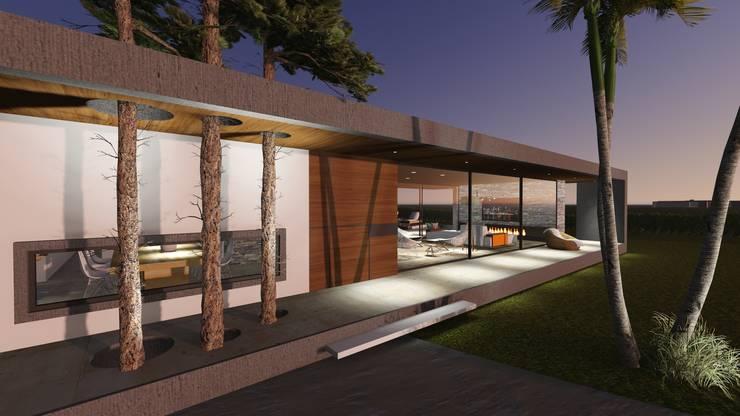 Ingreso Vivienda : Casas de estilo  por Estudio A+I