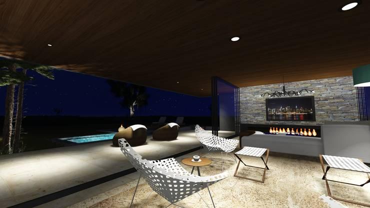 interior: Livings de estilo  por Estudio A+I