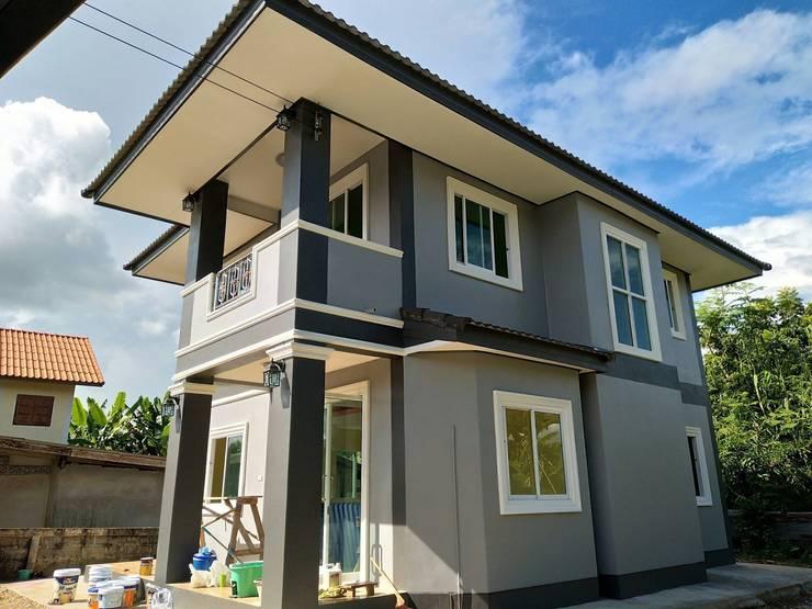 by บ้านช่างใหญ่ บริการรับสร้างบ้าน จ.น่าน (รัชนีก่อสร้าง)