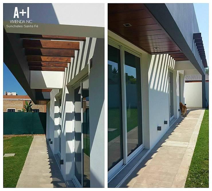 Casas de estilo  por Estudio A+I