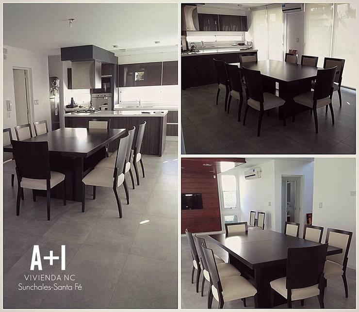Interior - Cocina/Comedor: Cocinas de estilo  por Estudio A+I,